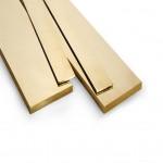 """1/4"""" x 1/32"""" (20g) - Brass Flat"""