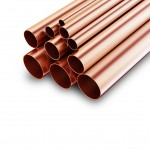 "Copper Tube - 5"" o/d x 10g"