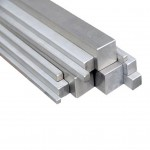 METRIC 333mm long - Silver Steel Square